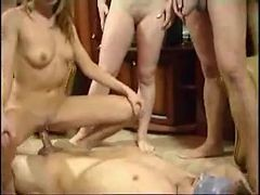 Russian Family Having An Group sex