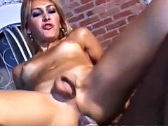 his big black cock goes well in the ass