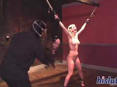 Slutty Cherry has fun in the dungeon