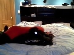 red and black frogman humps orca frogman