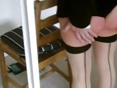 British wife spanked raw 2