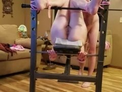 Wife tied to weight bench and abused..