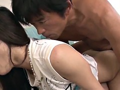 Megumi Shino endures more than one cock in the same time