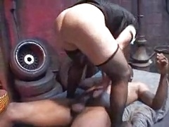Dirty GILF De'Bella Get's Handled 3X Style