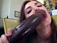 Анальный секс, Большой член, Межрасовый секс