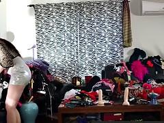 Enthousiasteling, Stel, Seksspeelgoed, Lesbisch, Masturbatie, Orgasme, Voorbinddildo, Speelgoed