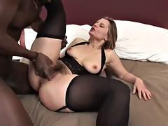 Watch me take this big black cock like a total slut