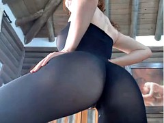 hot blonde camgirl pussy squirt spandex