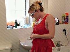 Jodie Ellen Downblouse Sexy Video Lookbook 1 Hot Blonde Babe