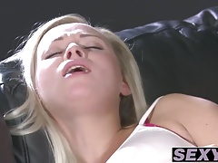 Blonde lesbians having the best pussy time ever with licking