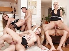 Maid Group orgy