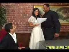 Wife Impregnated By Black Cock On Wedding Day!