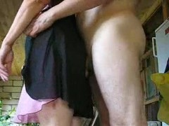 Hubby Takes Her From Behind
