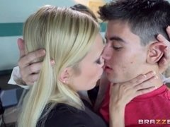 Brazzers - Teacher has threesome with two lucky students