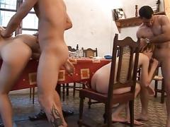 Spanish wild, nasty sex party