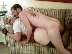 cable lad getting down and dirty the wife  doggy