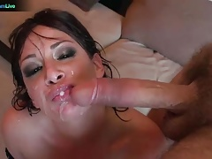 Tory Lane in double penetration action