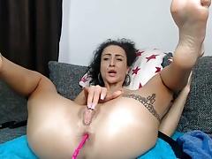 Amateur, Anal, Masturbation, Jouets, Webcam