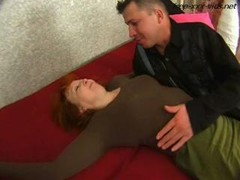 Drunk mother seduced and also fucked hard by young purple rod