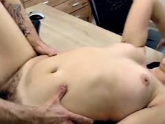 Jessica Patt sees her man and fucks him good