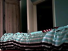 My Wife in the Bedroom on Hidden Cam