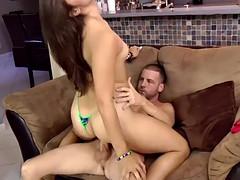 WANKZ Izy Bella Blu Loves Her Thongs