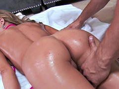 Brazzers  Kendall Kayden get oiled up and ready