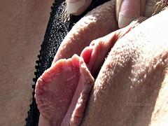 Sensual Brunette Shows Her Beautiful Vagina