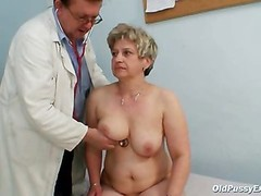 Old Porky Muff Ruzena Gyno Speculum Bizzare Clinic Exam