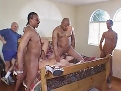 Husband allow other men to fuck his wife in casting