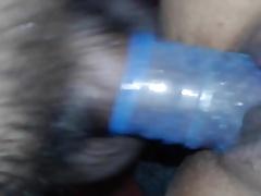 Indian wife fucking hard blue condom