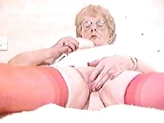 granny enjoys a first-class bang