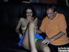 Dark-haired beauties pose and tease in free movies