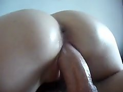 Flawless dilettante cum eruption and creampie