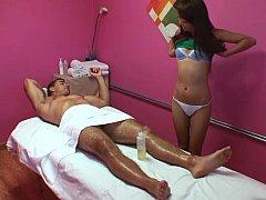 Asiatique, Chinoise, Branlette thaïlandaise, Massage