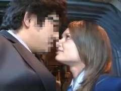Jaw-Dropping Euro Schoolgirl has hook-up in a Bus ctoan