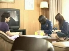 Japanese Teen chicks Rape a Nerdy Gal