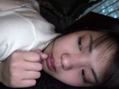 Asiatic teenage is hot schoolgirl Ai Uehara in non-professional POV