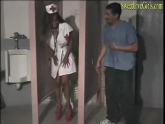 Hot Ebony Nurse Gets Banged By Hot White Hunk 1 Windows media video