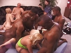 Dirty Grown-up Sluts Get Savaged At An Interracial Have an intercourse Party!!