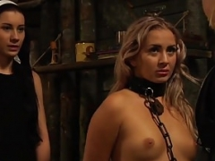 The Submission of Sophie: Servant In Chains Groped By Mistress