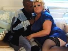 Mooie dikke vrouwen, Dik, Interraciaal, Moeder die ik wil neuken, Kousen