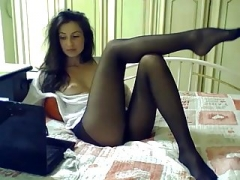 Lingerie, Masturbation, Collant