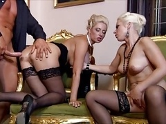 group sex with 3 hot women(party gone wild)