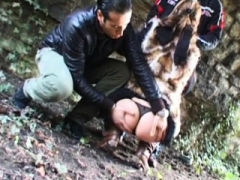 French legal teen with hairy pussy fucked in a 3some