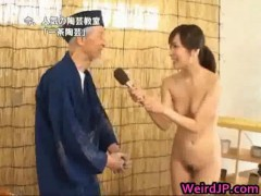 Asiatic Porn model Is Naked For Educational