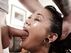 MyXXXPass Saya Song Fine and plus Sloppy Throating