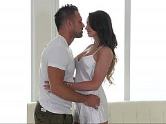 Kissing and caressing massage