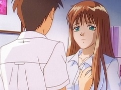 Anime school sex beautiful teacher got fucked