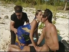 Summer Beach Double penetration Fun! Remember the Sunscreen! Watch Read Rate Comment!